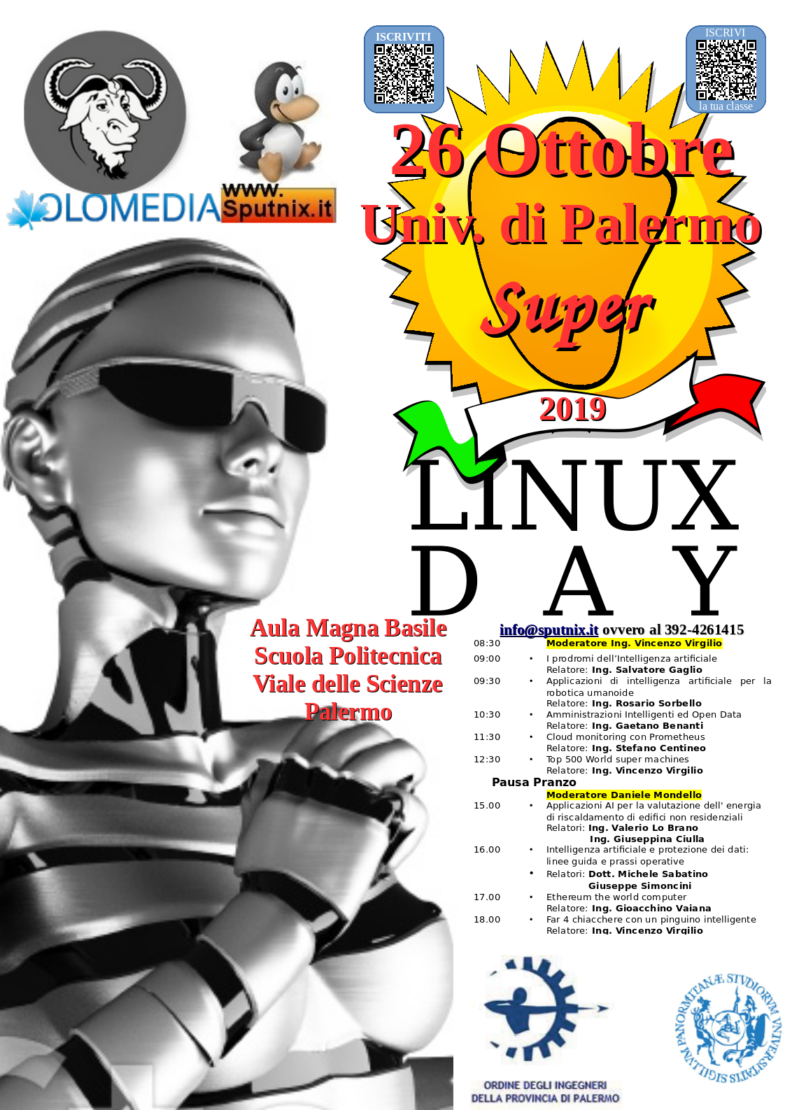 Super Linux Day Palermo 2019